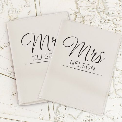 Personalised Mr & Mrs Passport Holders